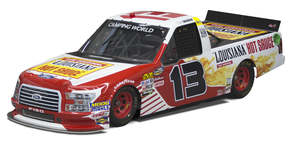 Louisiana Hot Sauce Spices Up the NASCAR Camping World Truck